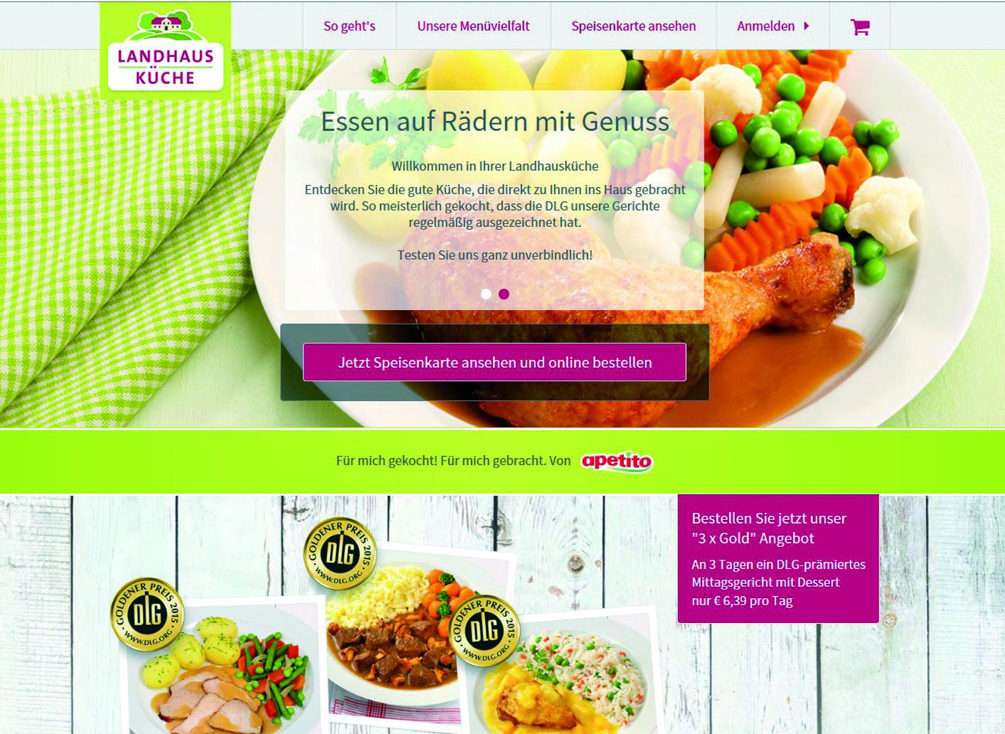 Landhausküche apetito  18.08.2016: Apetito - Auf digitalen Wegen